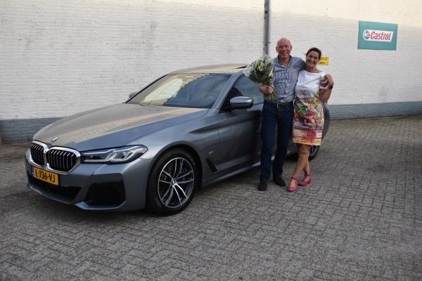 Aflevering BMW 540i XDrive