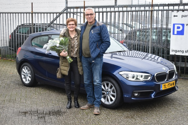 Aflevering BMW 1-serie automaat