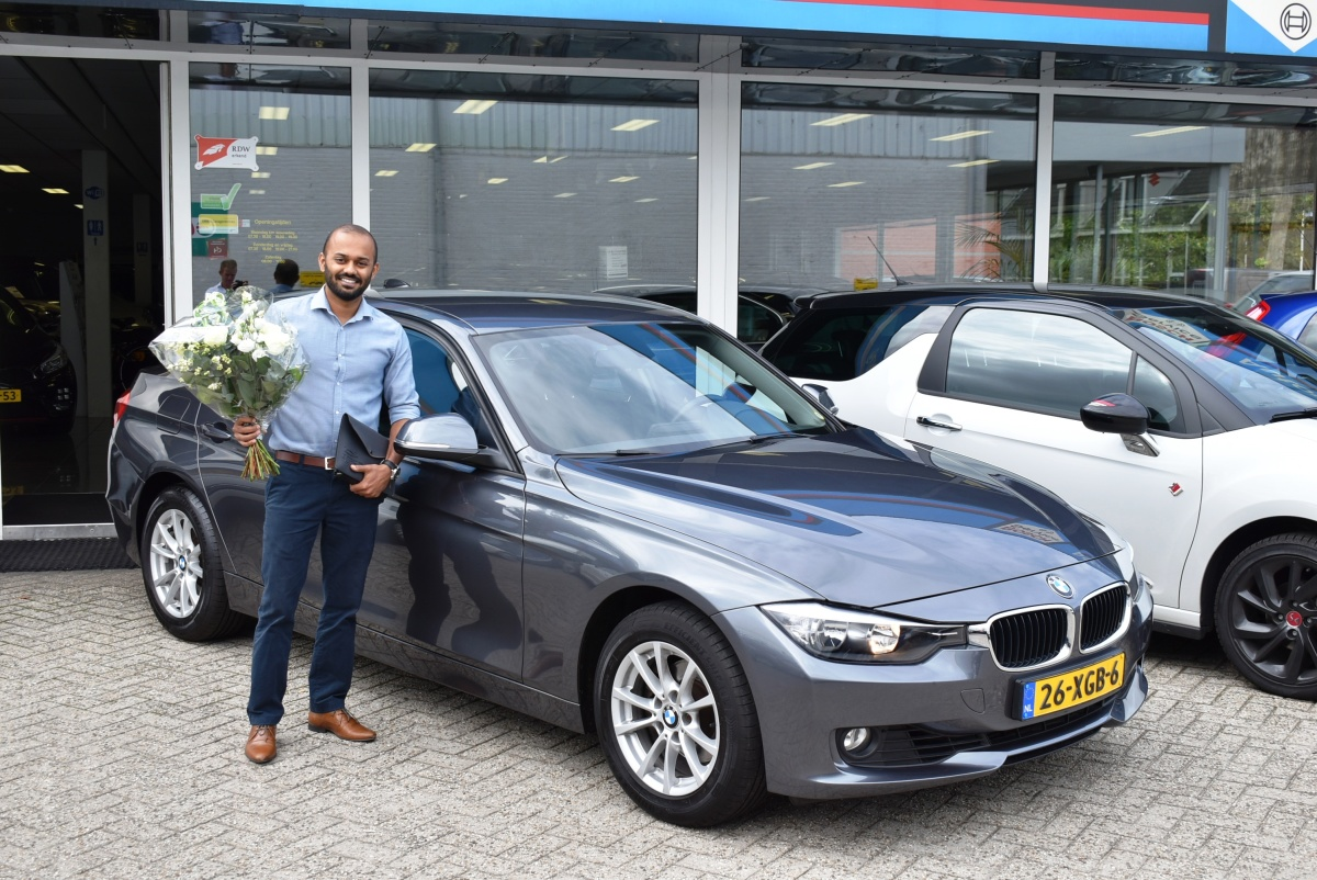Aflevering BMW 320i