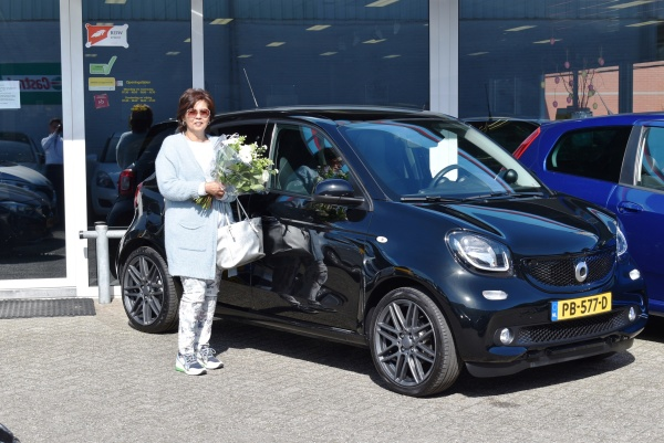 Aflevering Smart Fofour Brabus