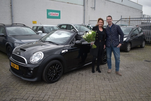 Aflevering Mini Roadster