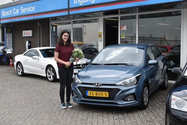 Aflevering Hyundai i20