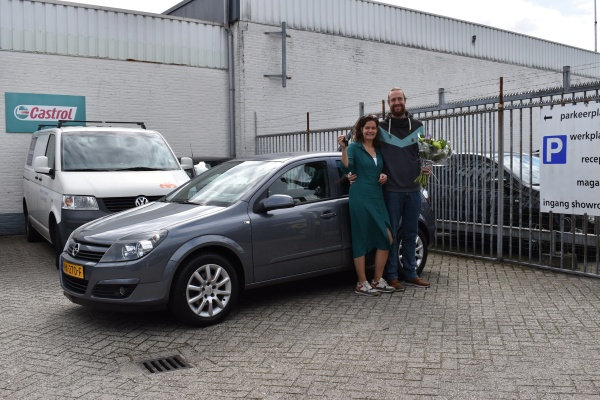 Aflevering Opel Astra