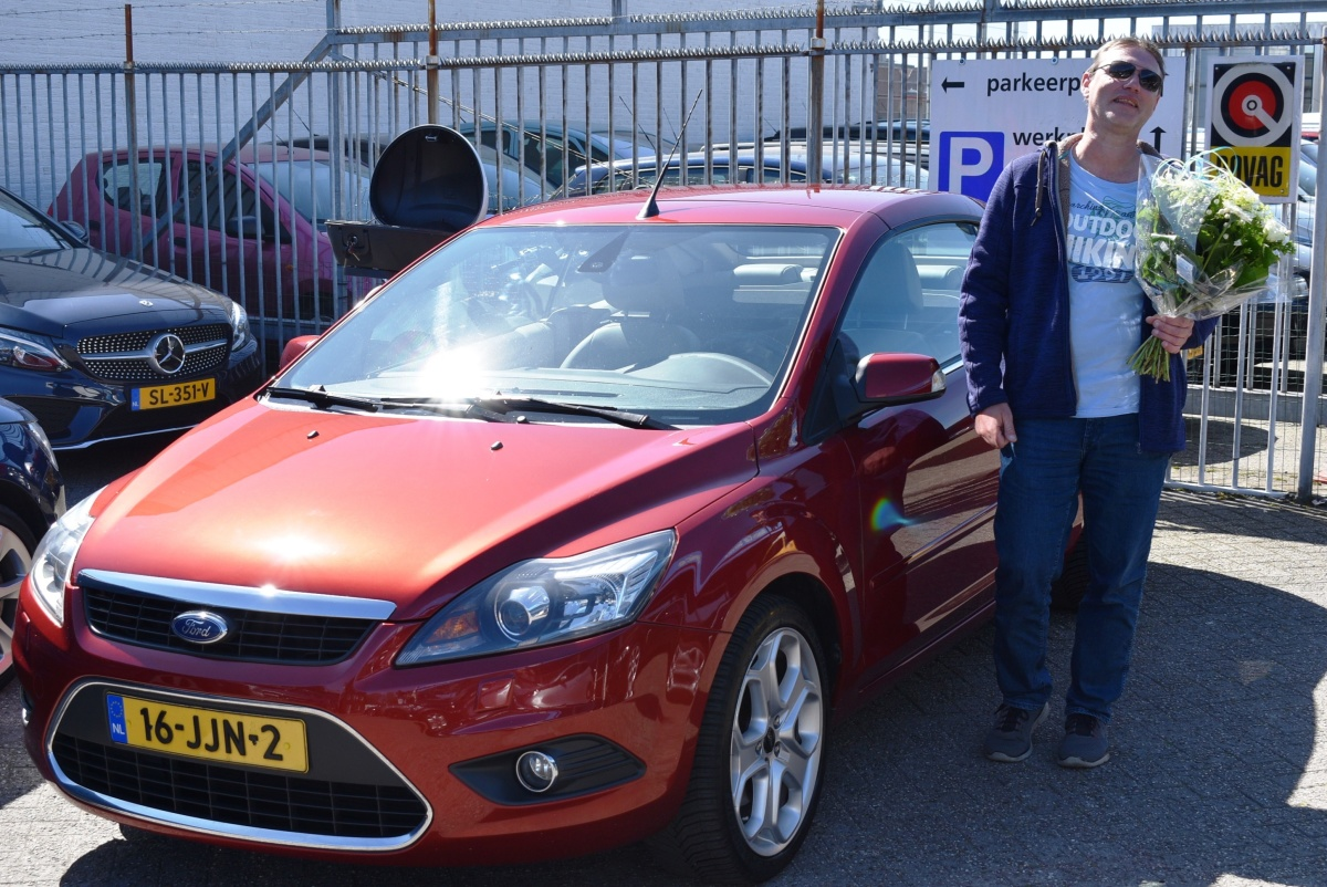 Aflevering Ford Focus Cabriolet