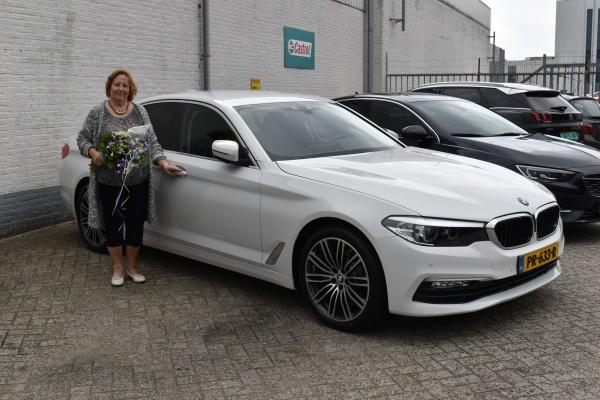Aflevering BMW 520i