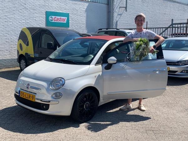 Aflevering Fiat 500C