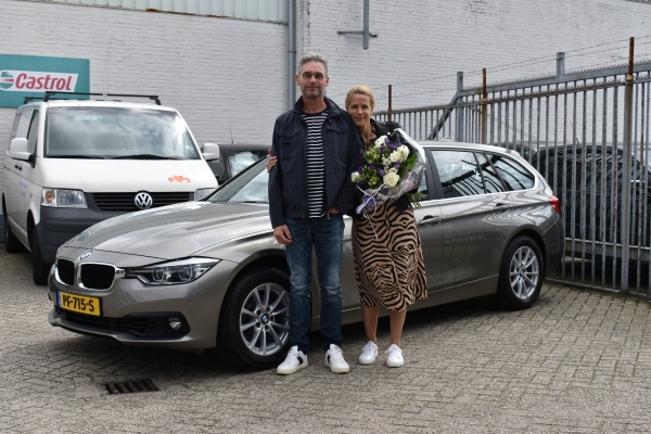 Aflevering BMW 320i Touring