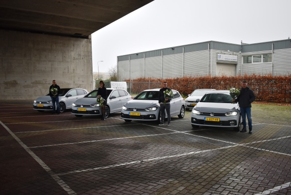 Aflevering V.W. Polo's R-Line