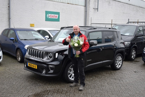 Aflevering Jeep Renegade