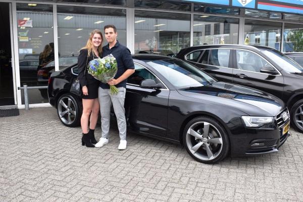 Aflevering Audi A5 Sportback