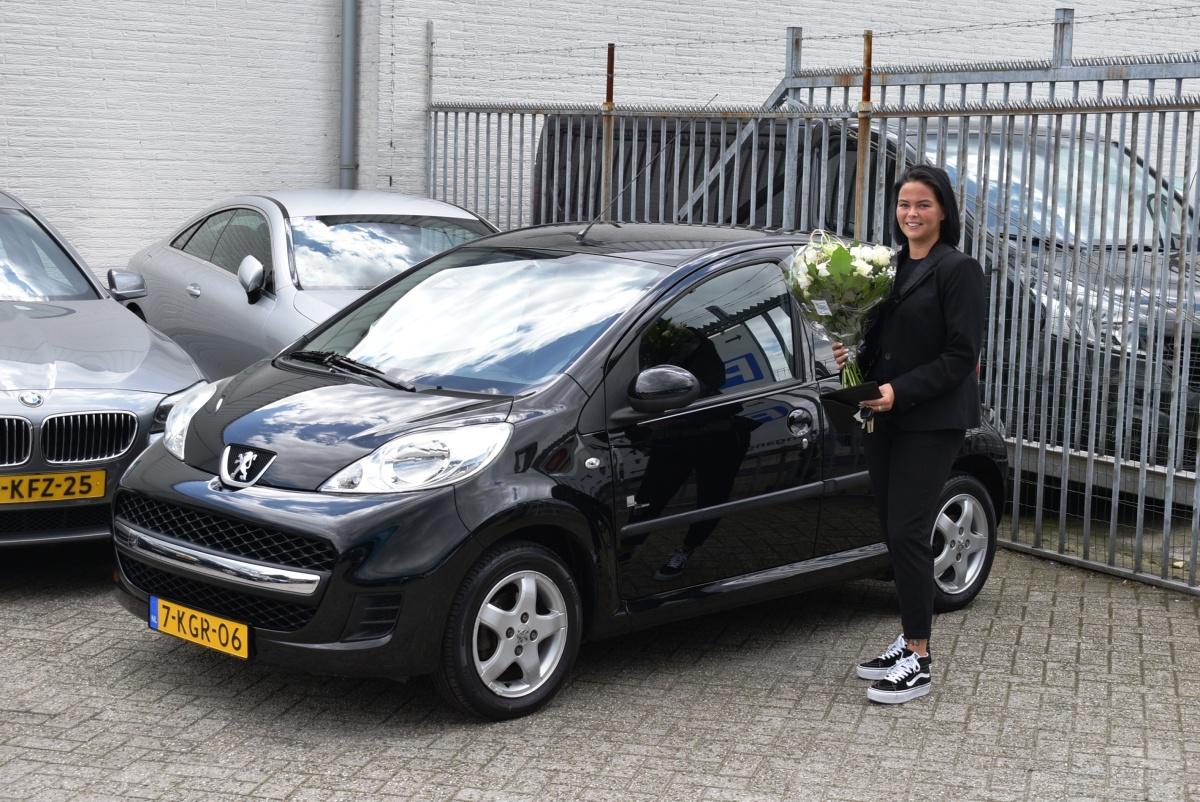 Aflevering Peugeot 107