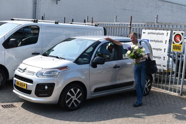 Aflevering Citroën C3 Picasso