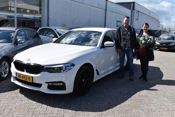 Aflevering BMW 530e