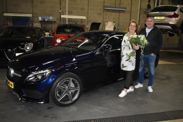 Aflevering van de Mercedes-Benz C COUPE-2019-10-05 09:31:25
