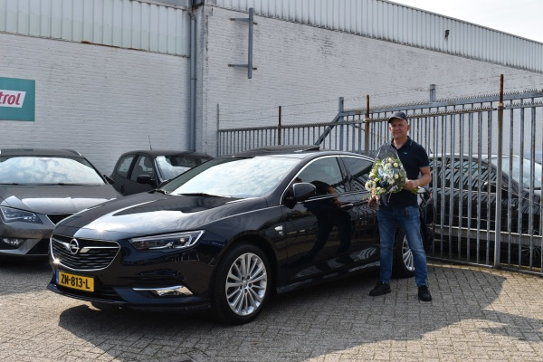 Aflevering Opel Insignia automaat