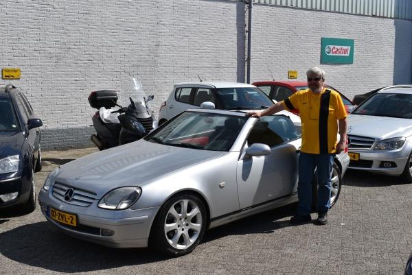 Aflevering Mercedes-Benz SLK200